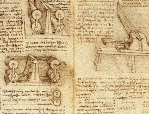 Leonardo Da Vince e i termini tecnici
